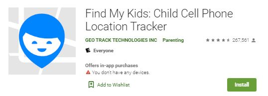 Find My Kids App On Google Play